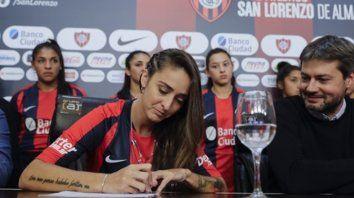 Macarena Sánchez: La profesionalización no termina acá