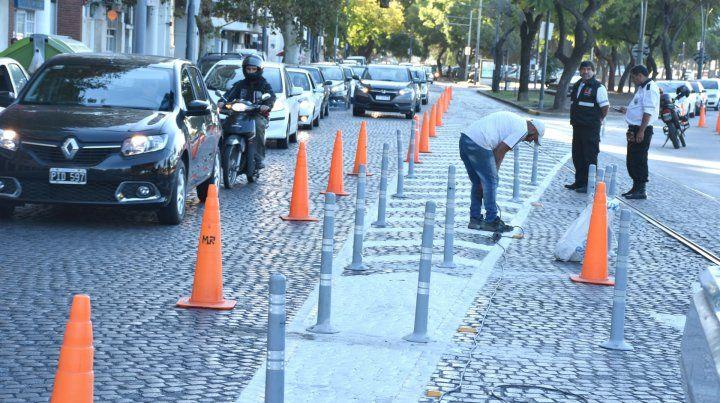 El Municipio reforzará la señalización en la avenida de la Costa para evitar accidentes