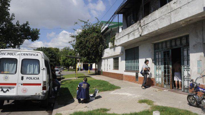 El crimen de Sergio Alcaraz ocurrió en febrero de 2014 en la esquina de Alem y 24 de septiembre.