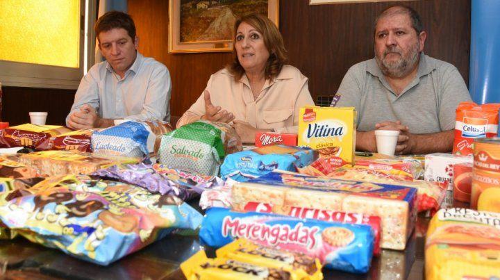 Fein presentó la 4 etapa de los Precios Justos junto a Rubén Milito