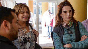 Frana junto a María Eugenia Bielsa, del frente Encuentro por Santa Fe.