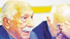 Darío Rivas. Tenía 99 años y vivía desde los nueve en nuestro país, donde recibió el apoyo para la querella.