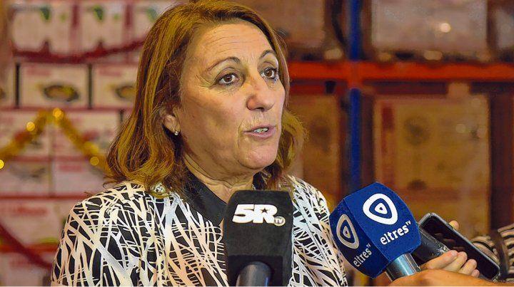 La intendenta Mónica Fein le pidió comprensión a los municipales.