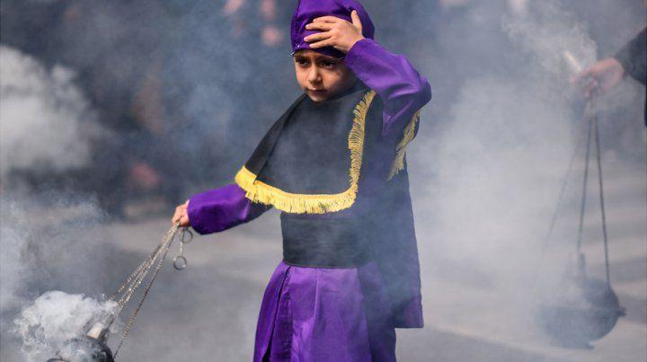 Imágenes de la Semana Santa 2019 por el mundo