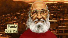 Uno de los capítulos de Maestros de América latina está dedicado a la figura del educador brasileño Paulo Freire.