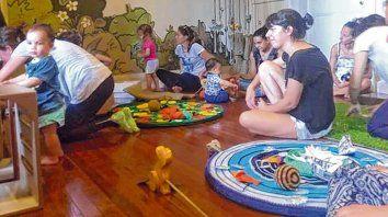El sitio para chicos y chicas de 0 a tres años cuenta con materiales acordes a sus primeros pasos.