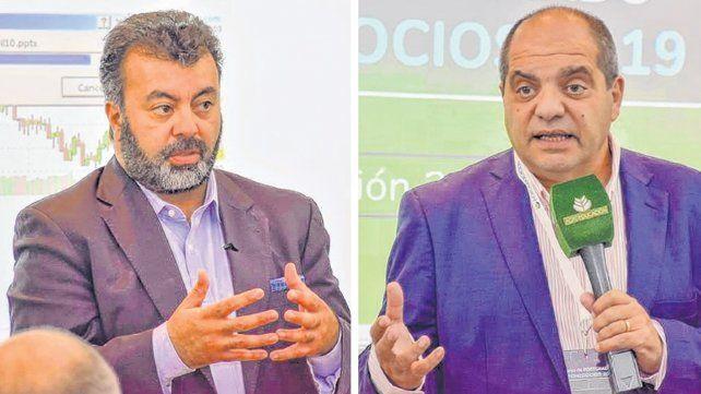 nuevos tiempos. Ochoa y Di Stéfano señalaron que el mayor volumen de producción previsto para esta campaña no salvará al productor. Aconsejaron utilizar herramientas financieras de cobertura.