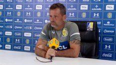 El entrenador de Central, Diego Cocca, habló de lo que espera del equipo ante Aldosivi.