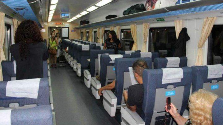 La demanda de los pasajes en tren sigue creciendo. (Foto de archivo)