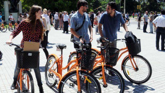 Por el Día de la Bicicleta hoy el servicio Mi Bici, tu Bici es gratis en la ciudad