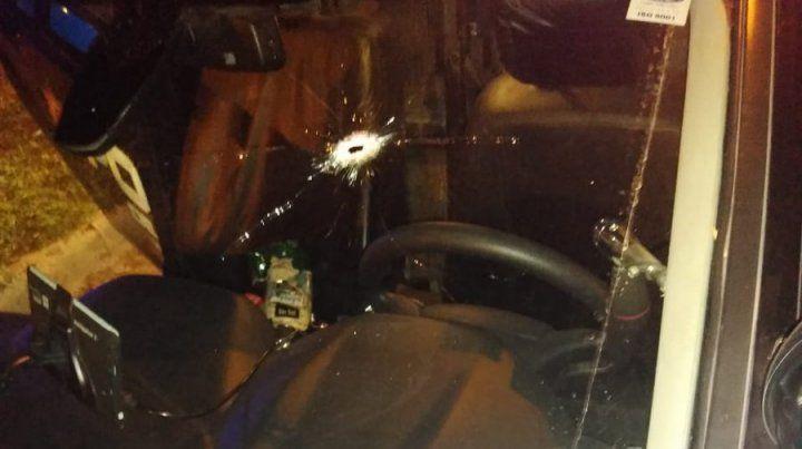 Una persecución callejera culmina con un recio tiroteo entre policías y motochorros