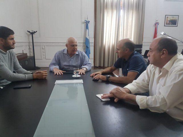 El gobernador Miguel Lifschitz se reunió con el ministro de Seguridad