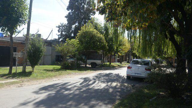 El lugar donde mataron a Vera, en Castellanos y Dr. Riva.