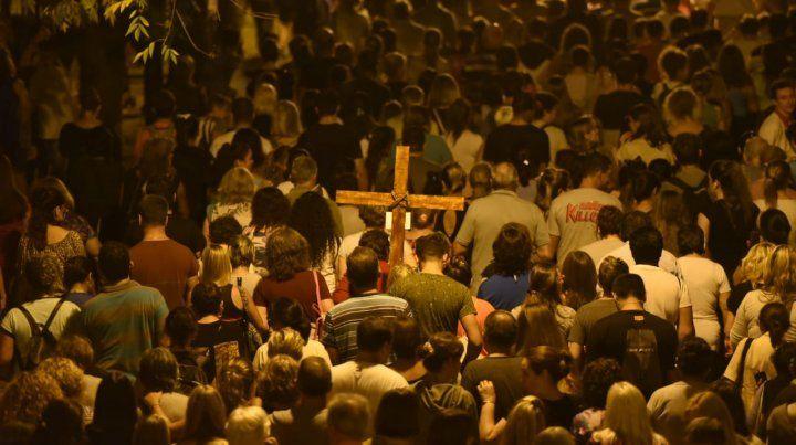 La gran muestra de fe del Vía Crucis en imágenes