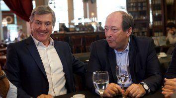 Boasso recibió el aval de Ernesto Sanz a su candidatura a intendente.