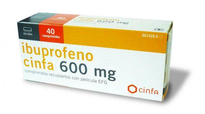 Lanzan advertencia sobre los peligros del uso del ibuprofeno