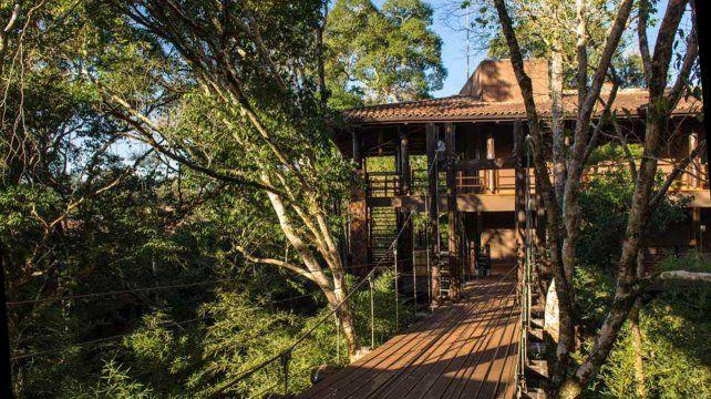 Confort y naturaleza. El Loi Suites ofrece una oportunidad única para recorrer la inmensidad del Parque Nacional Iguazú.