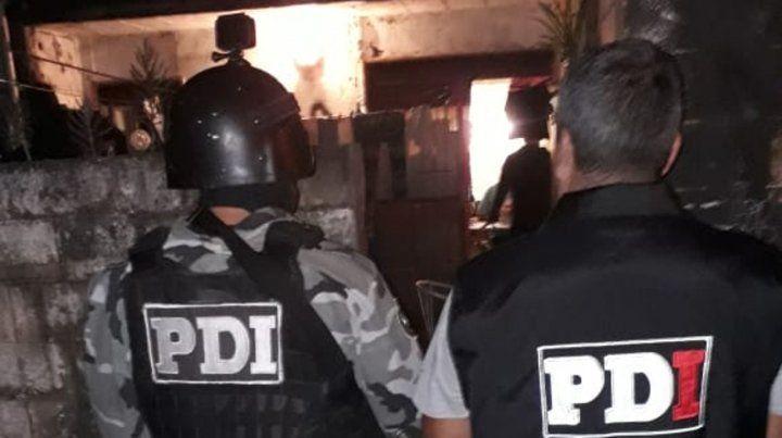 En Barrio Industrial. La PDI allanó una casa y apresó a Ignacio Damián P. como coautor del crimen.