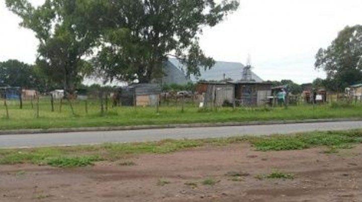 Zona sur. El ataque ocurrió en inmediaciones de Uriburu y Avellaneda.