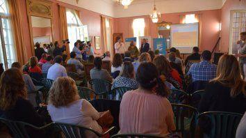 Acciones para resolver la vulnerabilidad. En el municipio de Casilda se firmaron los acuerdos.