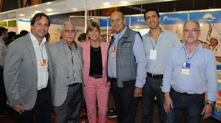Presente. La comuna en la Feria Internacional de Alimentación en Rosario.