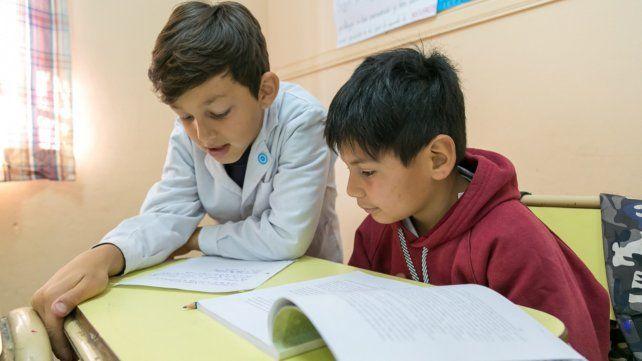 Buenos textos. El gobierno provincial comenzó a aplicar el programa Tertulias Literarias en 2017 y cosechó muy buenos logros.