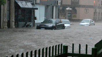 Chaco. El agua inundó vastas zonas de Resistencia, entre otros lugares.