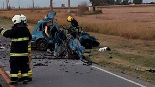 Tres muertos al chocar dos vehículos en la ruta cerca de Marcos Juárez