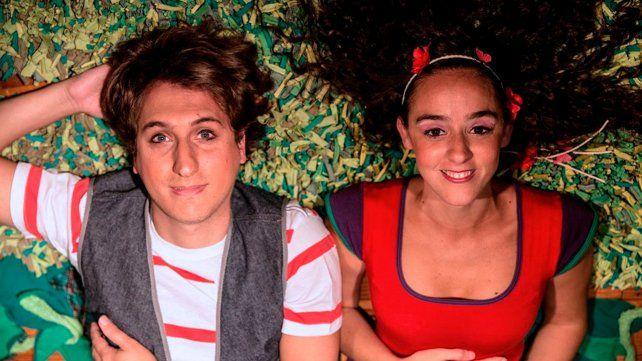 Protagonistas. Nicolás Palma y Yanina Gaggino encabezan el elenco de Mío (de mí)