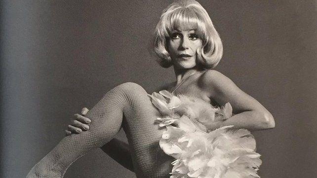 Sexy en la madurez. Amelita trabajó en teatro junto a Antonio Gasalla.