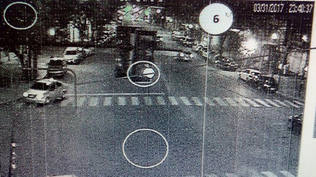 Cámaras. El secuestro ocurrió el 31 de marzo de 2017 en inmediaciones de Zuviría y Solís
