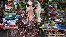El look de Wanda Nara para ir a una verdulería en Italia