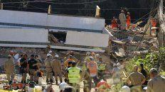 Llegan a 23 las víctimas del derrumbe en Río de Janeiro