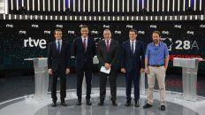 Áspero debate entre candidatos en España a días de las elecciones