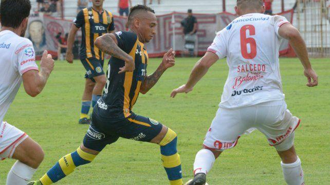 En capilla. Barrera jugó con Huracán y luego sumó pocos minutos con Aldosivi. En tanto