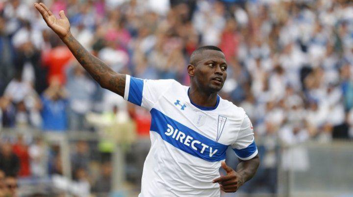 Lleva dos goles. El punta marcó frente a Everton y la U de Chile en el torneo trasandino. No gritó en la copa.