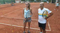 Enfocada. Caterina juega desde los 4 años en Regatas y entrena todos los días.