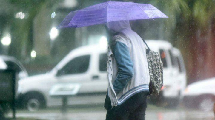 Martes bien otoñal y con precipitaciones que se harán sentir durante gran parte del día.