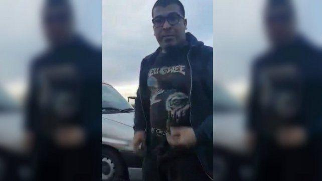 Una mujer grabó cuando la chocaron y persiguieron en la autopista