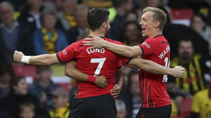 El irlandés Long marcó el gol más rápido de la historia de la Premier League