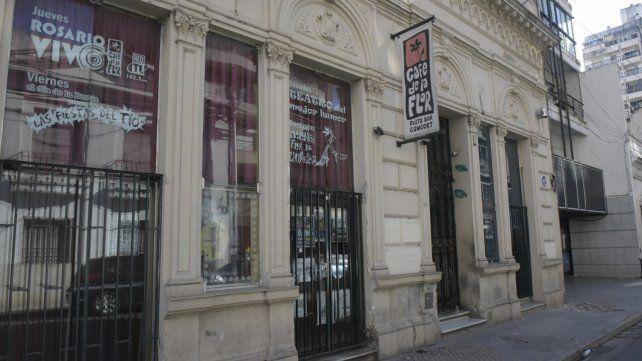 Mendoza al 800. El fallecimiento del bajista ocurrió en octubre de 2015 y conmocionó a la ciudad.