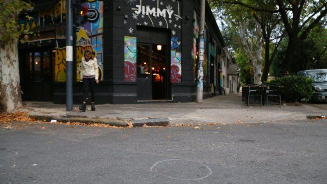 Atacado. El bar Jimmy