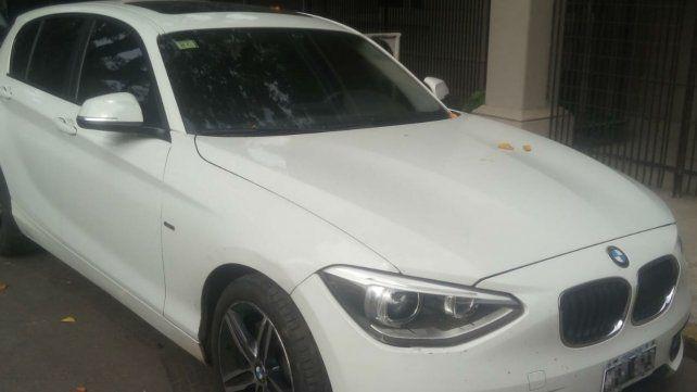 El vehículo secuestrado por la PDI