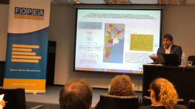 La provincia participó en un seminario sobre acceso a la información pública