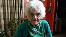 tiene 105 anos y la convocaron como autoridad de mesa