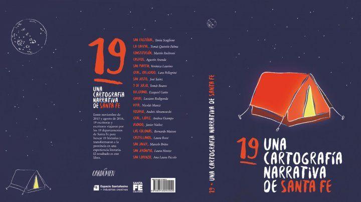 Presentan un libro que narra historias de los 19 departamentos de la provincia