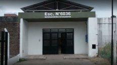 La escuela donde ocurrió el hecho de violencia.
