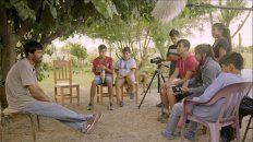un documental de chicos y chicas de la comunidad mocovi