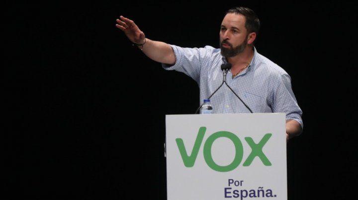 Vox, el partido de extrema derecha, condicionaría la política en España