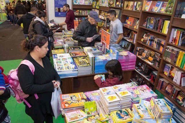 La 45º edición de la Feria del Libro comenzó en Palermo